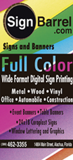 Sign Barrel Vertical RGB 2 inch