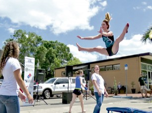 Flying High at Alachua's Main Street Spring Festival